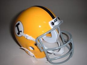 1965 Iowa Hawkeyes Throwback Mini Helmet