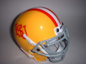 1967 Iowa State Cyclones Throwback Mini Helmet
