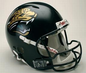 Jacksonville Jaguars Full Size Revolution Helmet
