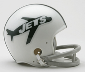 1963 New York Jets Throwback Mini Helmet