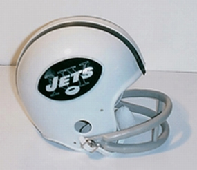 1965-1977 New York Jets Throwback Mini Helmet