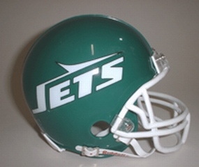 1978-1989 New York Jets Throwback Mini Helmet