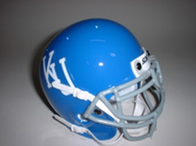 1964 Kansas Jayhawks Throwback Mini Helmet