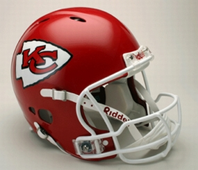 Kansas City Chiefs Full Size Revolution Helmet