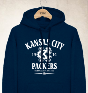 Kansas City Packers Clubhouse Vintage Hoody