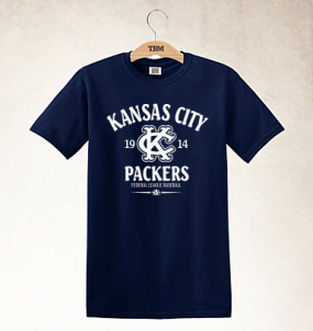 Kansas City Packers Clubhouse Vintage T-Shirt