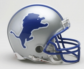 1983-2002 Detroit Lions Throwback Mini Helmet