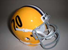 1958 LSU Tigers Throwback Mini Helmet