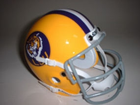 1975 LSU Tigers Throwback Mini Helmet