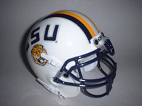 1997 LSU Tigers Throwback Mini Helmet