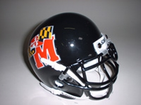 1997 Maryland Terrapins Throwback Mini Helmet