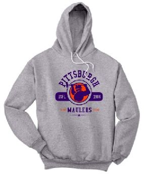 Pittsburgh Maulers Circle Hoody