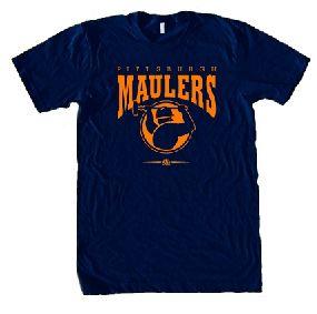 Pittsburgh Maulers USFL Ringer T-Shirt