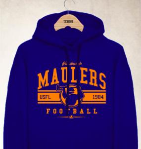 Pittsburgh Maulers Logo Hoody