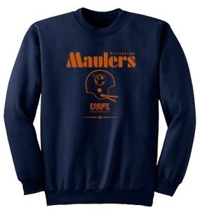 USFL Pittsburgh Maulers Locker Crew