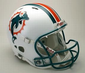 Miami Dolphins Full Size Revolution Helmet