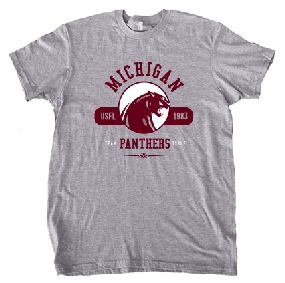Michigan Panthers Circle Tee