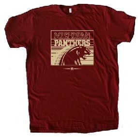 Michigan Panthers USFL Ringer T-Shirt