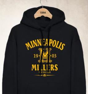 Minneapolis Millers Clubhouse Vintage Hoody
