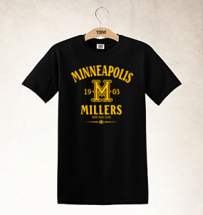 Minneapolis Millers Clubhouse Vintage T-Shirt
