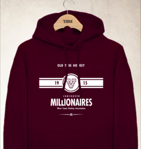 Vancouver Millionaires Youth Hoody