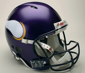 Minnesota Vikings Full Size Revolution Helmet