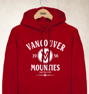 Vancouver Mounties Clubhouse Vintage Hoody
