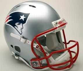 New England Patriots Full Size Revolution Helmet