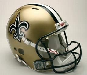 New Orleans Saints Full Size Revolution Helmet