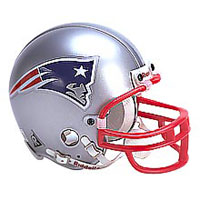 Riddell New England Patriots Full Size Replica Helmet