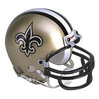 Riddell New Orleans Saints Full Size Replica Helmet