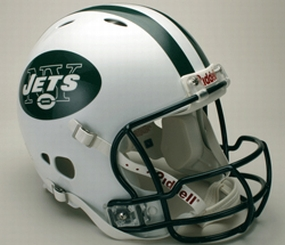 New York Jets Full Size Revolution Helmet