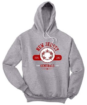 New Jersey Generals Circle Hoody