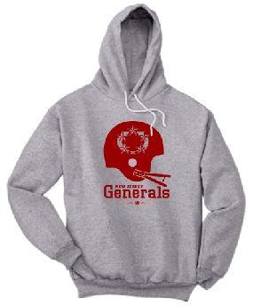 New Jersey Generals Helmet Hoody