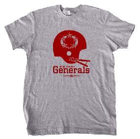 New Jersey Generals Helmet Tee