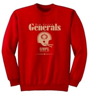 USFL New Jersey Generals Locker Crew