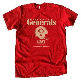New Jersey Generals Locker Tee