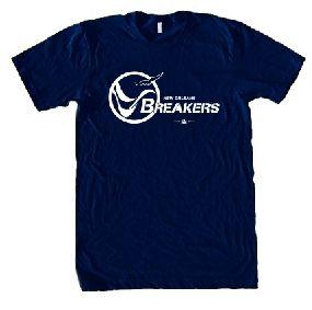 New Orleans Breakers USFL Ringer T-Shirt