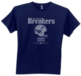 New Orleans Breakers USFL Fashion T-Shirt