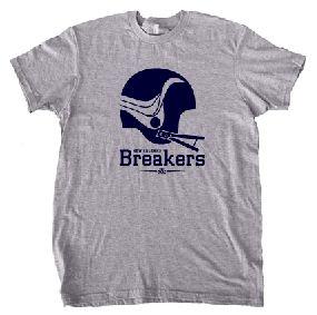 New Orleans Breakers Helmet Tee