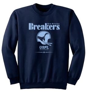 USFL New Orleans Breakers Locker Crew