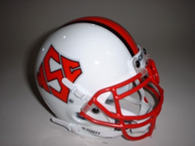 1998 N.C. State Wolfpack Throwback Mini Helmet