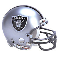 Riddell Oakland Raiders Full Size Replica Helmet