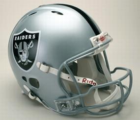 Oakland Raiders Full Size Revolution Helmet