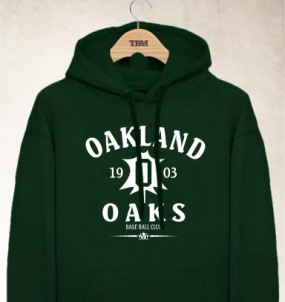 Oakland Oaks Clubhouse Vintage Hoody