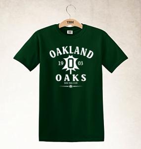 Oakland Oaks Clubhouse Vintage T-Shirt