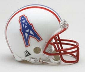 1981-1996 Houston Oilers Throwback Mini Helmet