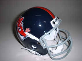 1970 Mississippi Rebels Throwback Mini Helmet
