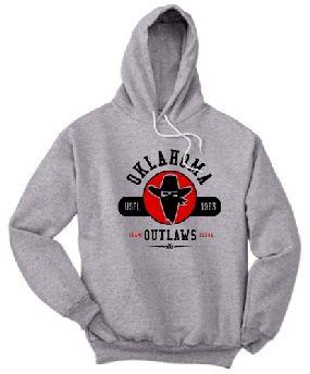 Oklahoma Outlaws Circle Hoody