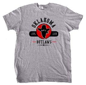 Oklahoma Outlaws Circle Tee